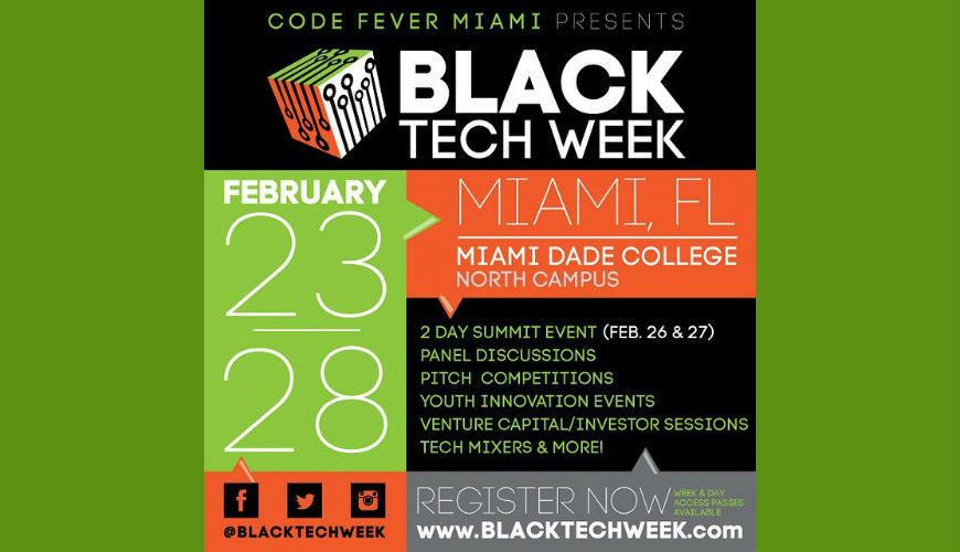 Black Tech Week banner