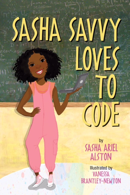 Sasha Savvy Loves to Code by Sasha Ariel Alston will be available for purchase on Amazon.